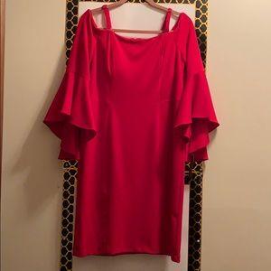 R&M RICHARDS DRESS, SHEATH, SIZE 14